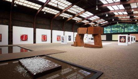 Nordart Blick in Ausstellungshalle