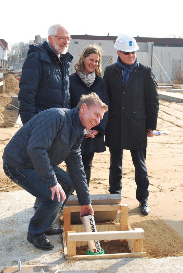 Grundsteinlegung Neubau Heinrich-Heine-Schule