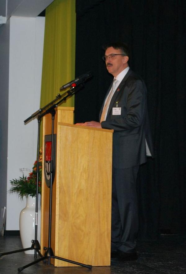 Bürgermeister Hinrichs Ansprache